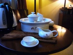 福建省ホテルの茶器セット