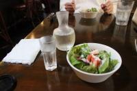 サラダ&日本酒♪