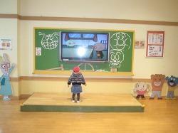 みみ先生の学校の教室ですよ!