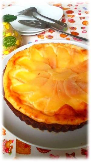 ラフランスチーズタルト