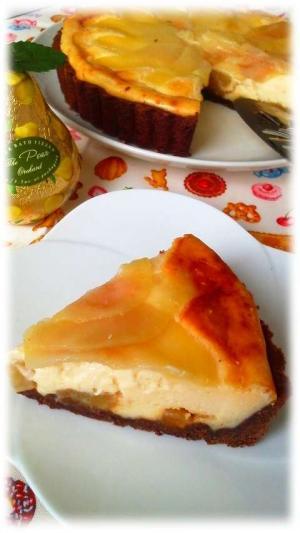 ラフランスチーズタルト1