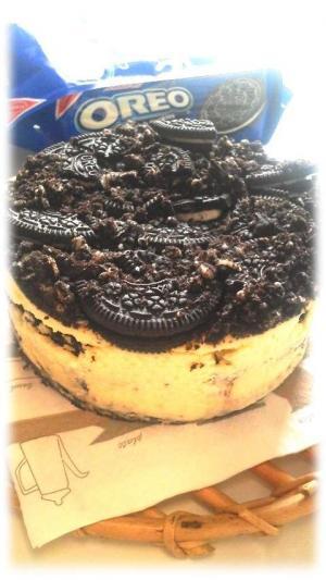 オレオチーズケーキ3