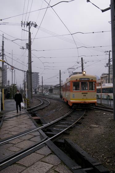 電車来た~