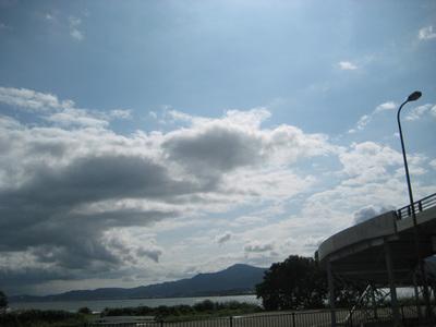 琵琶湖ほとり