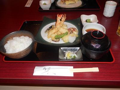 漁師の天ぷら定食