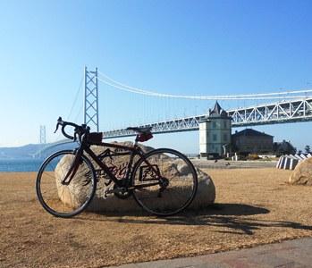 今年最後の明石海峡大橋