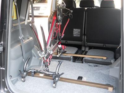 自転車車載方法