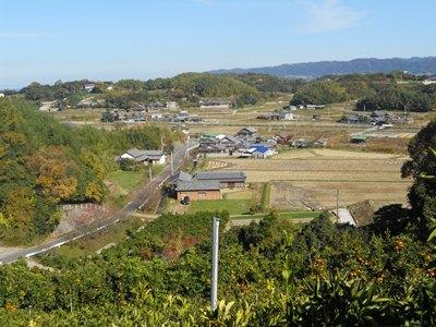 里農園からの風景