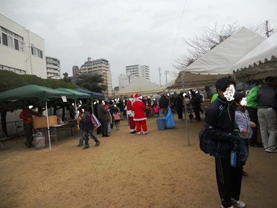 クリスマス会風景