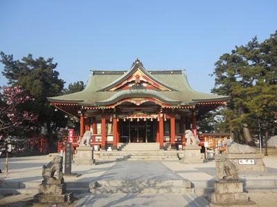 浜宮天神社風景