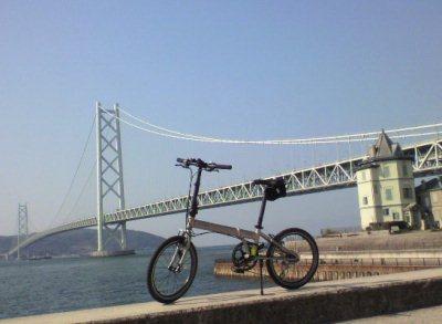 ダホンと明石海峡大橋