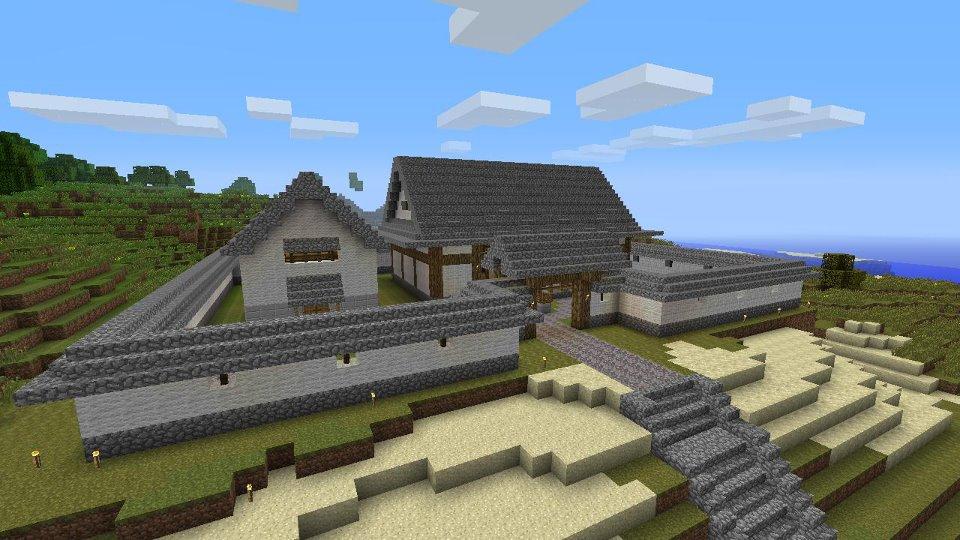Enjoy Xbox360! - minecraft雑記12:新拠点