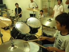 20100703 ドラムクリニック
