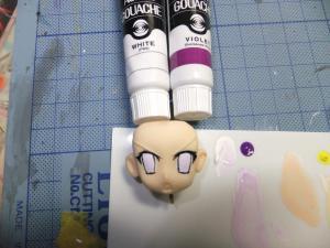 基本色塗装