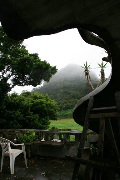 宿からの景色