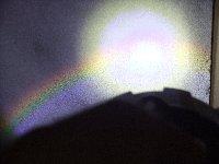 虹見箱で見た虹