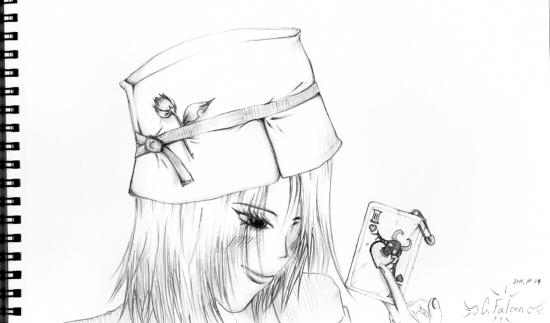 帽子とトランプと(ブログ)