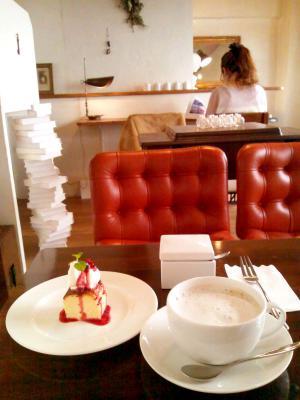 cafe shima ミルクコーヒー+手作りチーズケーキ