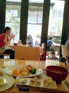 Brown Rice Cafe 雰囲気
