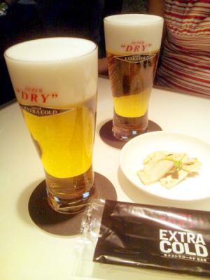 エクストラコールドバー エクストラコールドビール