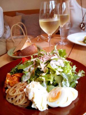 Cafe Ohanaya サラダランチ