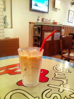 Maui Coffee Roasters アイスカフェラテ