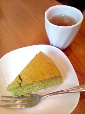 茶茶の間 抹茶チーズケーキ