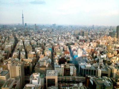 マンダリンオリエンタル 28階お手洗いからの景色