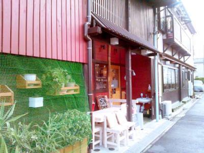 ゆるcafe 木楽楽 外観