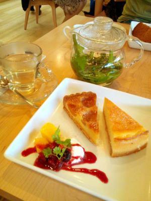 PARK SIDE CAFE ケーキセット