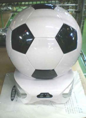 サッカーボール型冷温庫
