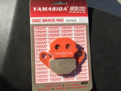 NZ250 YAMASIDAブレーキパッド