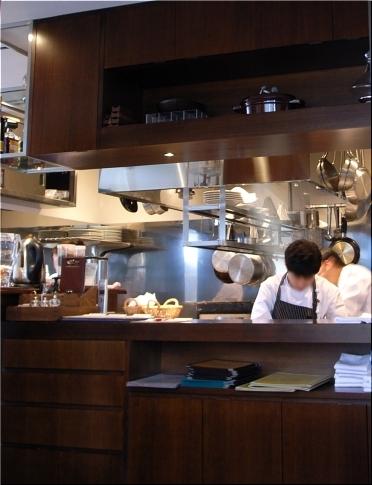 ガッルーラ 厨房
