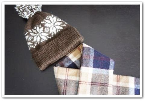 1217手編みの帽子-2