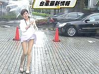 台風生パンレポートで放送事故があああ…