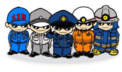 ブログ 消防 制服 写真