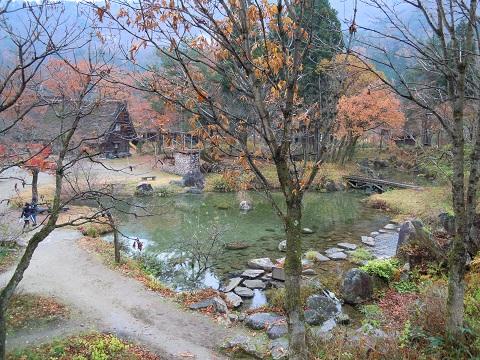 白川郷庭園feojnsaga