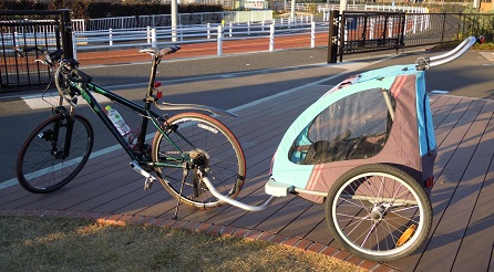 リヤカー 自転車