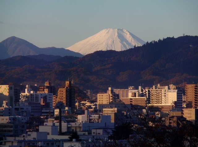 富士見町から