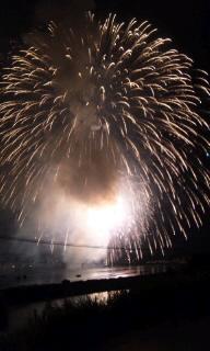 2010花火大会 巨大・・・。