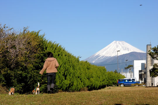 006富士山を見ながら