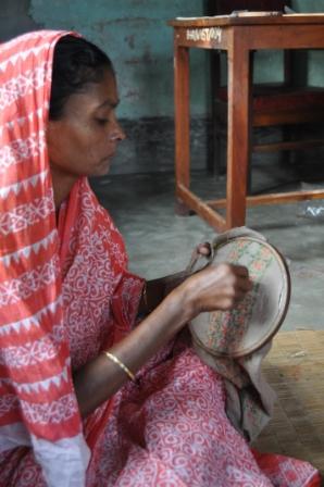 バングラ 刺繍