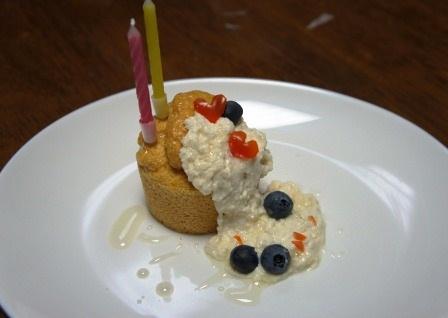 おぞましケーキ