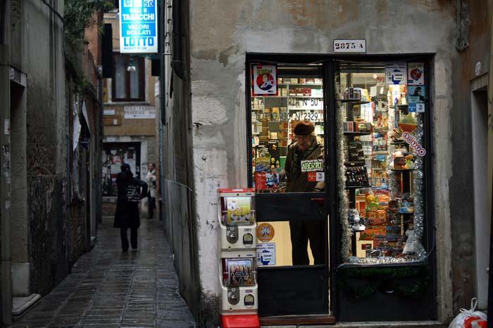 ヴェネツィアのタバコ屋