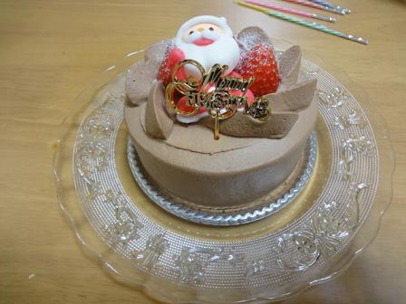 20101225ケーキ?