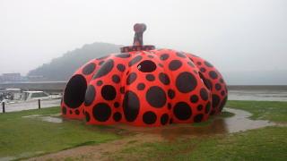 赤かぼちゃ(直島)