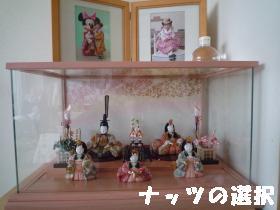 七五三記念写真と雛人形