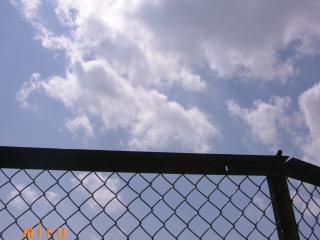天台の青空