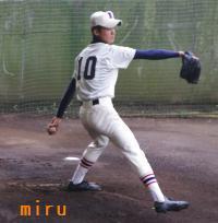 習志野・末松投手