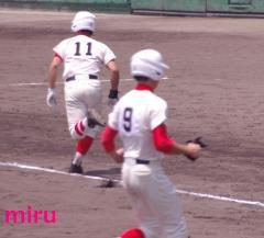 11藤井選手のタイムリーで遥輝還る